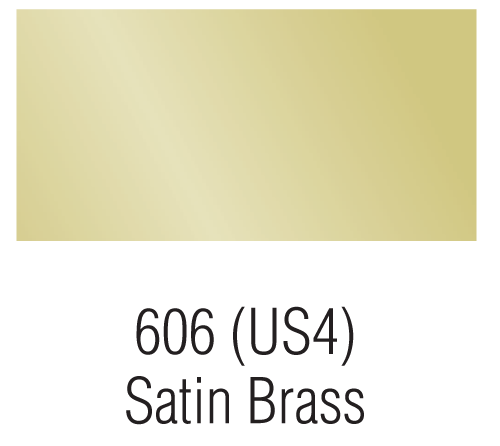Satin Brass - 606 (US4)