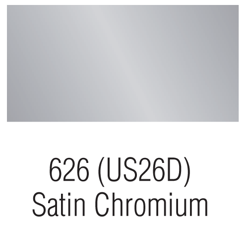 Satin Chromium – 626 (US26D)