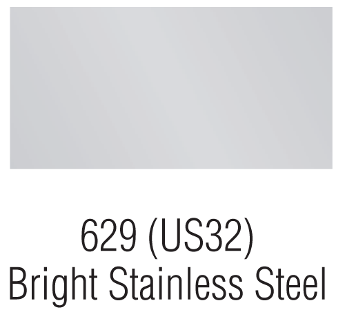 Bright Stainless Steel – 629 (US32)