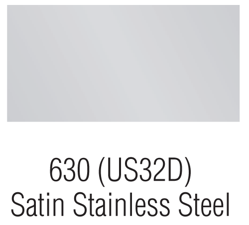 Satin Stainless Steel – 630 (US32D)